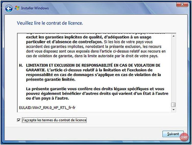 Licence Windows
