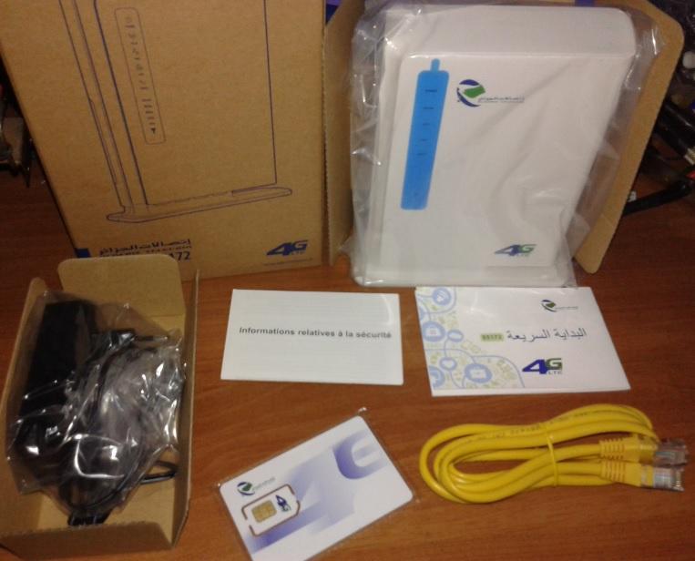 Ancien modem 4G Algérie télécom