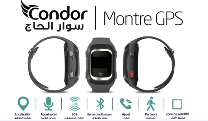 Bracelet Condor GPS