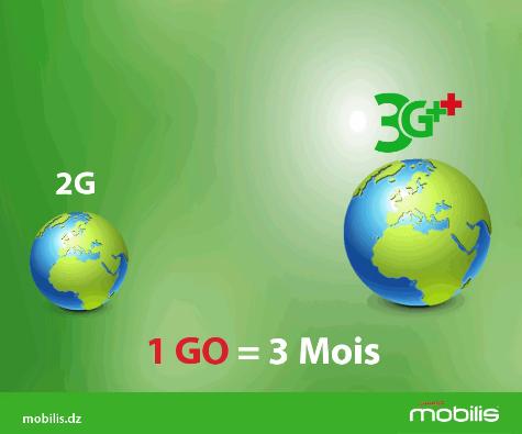 1GO d'internet 3G pour toute migration