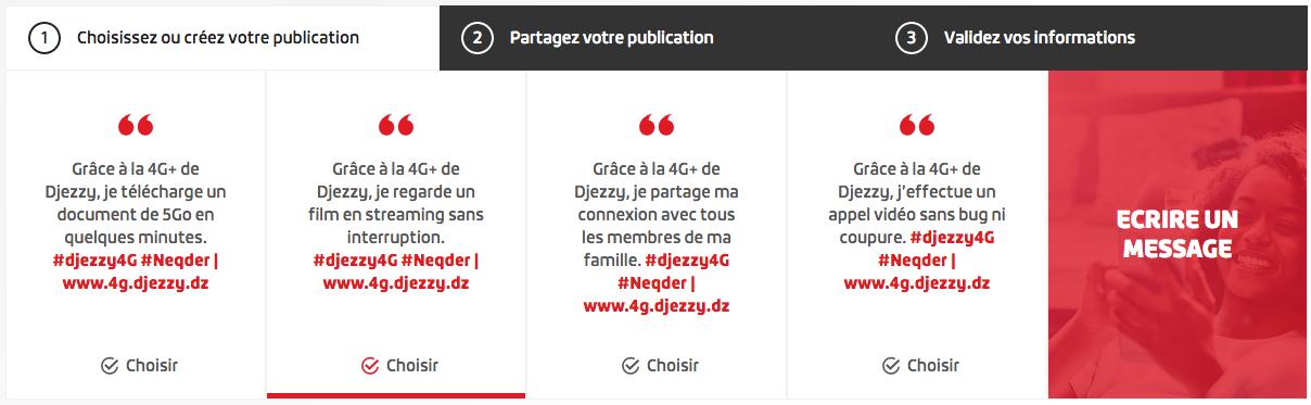 Concours Djezzy