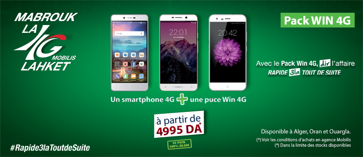 Offre Win 4G