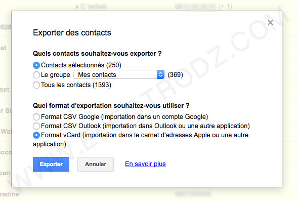 contacts-vcard-google