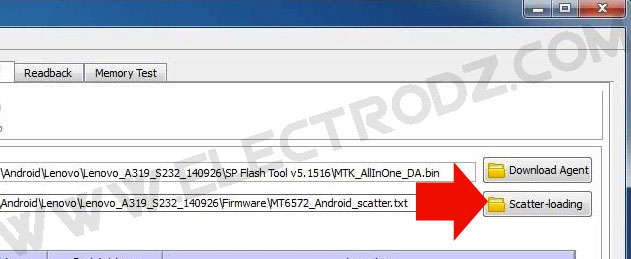 sp flash tool lenovo a319 ooredoo