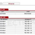 Les adresses Mac connectés aux WiFi