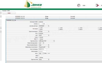 Configuration du modem Djaweb