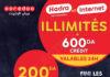 Internet illimité Haya! 200