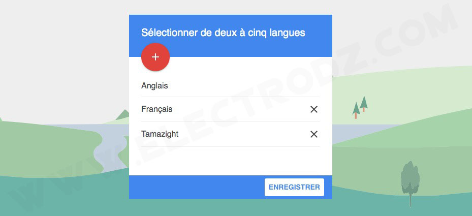 Tamazight sur Google Traduction